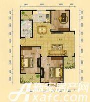 三一亚龙湾E户型3室2厅98.08㎡