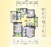 三一亚龙湾M户型3室2厅117.86㎡