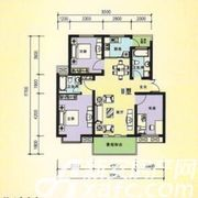 三一亚龙湾H户型3室2厅106㎡
