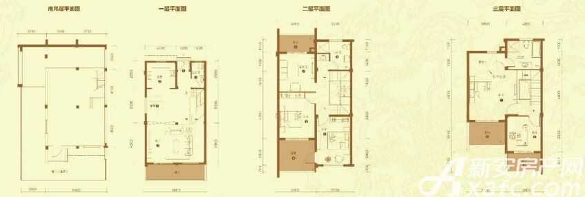 华邦敬亭山君云齐B63室2厅193.75平米