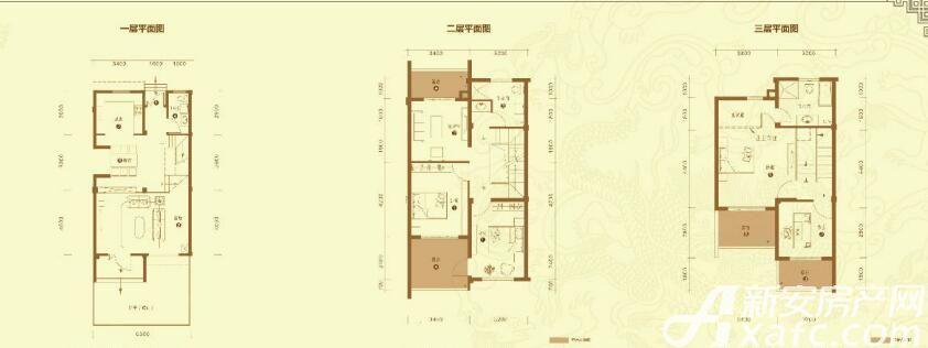 华邦敬亭山君佳赏B83室2厅191.82平米