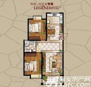 长江公园国际D户型2室2厅105.72㎡