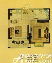 盛宇湖畔H41室1厅52.3㎡