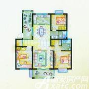盛宇湖畔E1户型3室2厅122㎡