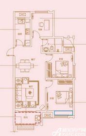 琥珀新天地琥珀新天地A户型3室2厅97.98㎡