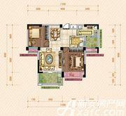 公园道壹号11#C1户型2室2厅88.47㎡