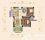 公园道壹号10#C1户型2室2厅83.7㎡