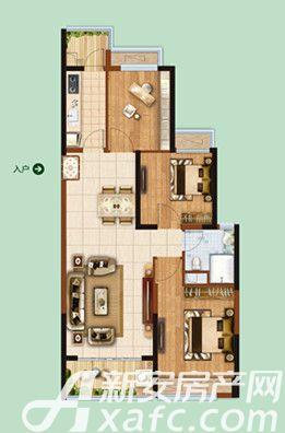 恒大绿洲55#013室2厅97.78平米