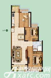 恒大绿洲55#013室2厅97.78㎡