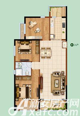 恒大绿洲55#043室2厅118.84平米