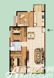 恒大绿洲55#043室2厅118.84㎡