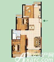 恒大绿洲40#41#01/043室2厅89.02㎡