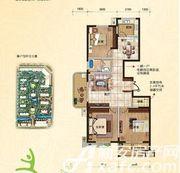 翡翠豪庭B2户型3室2厅126.4㎡