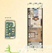 翡翠豪庭C61室1厅58.7㎡