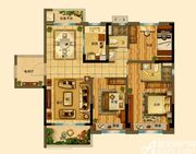 碧桂园•钻石湾YJ118T-C3室2厅118㎡
