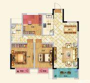 龙河湾A12室2厅97.72㎡