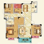 龙河湾C13室2厅127.76㎡