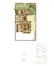 蓝光雍锦半岛448㎡别墅首层2厅120.62㎡