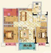 龙河湾E32室2厅100.59㎡