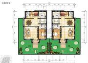和煦·芙蓉澜山A户型一层2室4厅131.26㎡