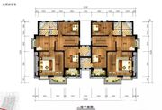 和煦·芙蓉澜山A户型二层6室2厅128.2㎡