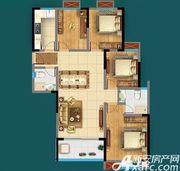 广源·缤纷城E1户型4室2厅122.59㎡