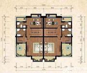 和煦·芙蓉澜山B户型三层2室2厅72.87㎡