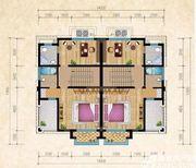 和煦·芙蓉澜山C户型三层4室66.41㎡