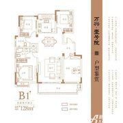 万兴壹号院B14室2厅128㎡