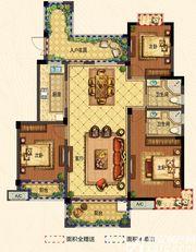翰林公馆南区C1'3室2厅128㎡