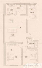 文德凯旋门Y1户型4室2厅95㎡