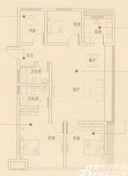 文德凯旋门G3户型4室2厅105㎡