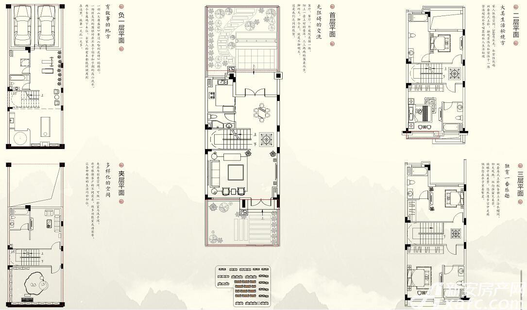 珠江翰林雅院青云别墅(B)5室4厅183平米