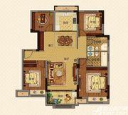 美的城洋房B129㎡户型4室2厅129㎡