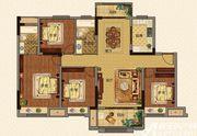 美的城洋房D142㎡户型4室2厅142㎡
