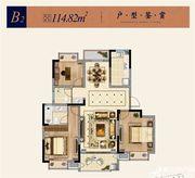 淮矿东方蓝海B23室2厅114.82㎡