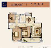 淮矿东方蓝海C23室2厅135.13㎡