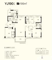 碧桂园仕府公馆YJ1905室2厅199㎡