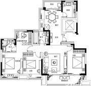 融侨观澜135㎡户型3室2厅135㎡