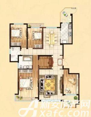 恒大绿洲A14室2厅199平米