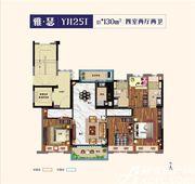 碧桂园公园雅筑YJ125T4室2厅130㎡