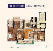 碧桂园公园雅筑YJ1804室2厅188㎡
