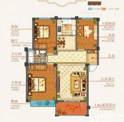 志城江山郡H25#楼3室2厅99.38㎡