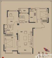 顺达玫瑰园A1户型3室2厅114㎡