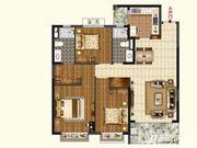 恒大珺睿府LR30-B3室2厅123.59㎡