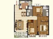 恒大珺睿府LR30-C3室2厅123.62㎡