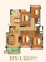 金马爱梦庄园HY-14室2厅135.63㎡