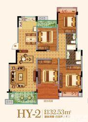 金马爱梦庄园HY-24室2厅132.53㎡