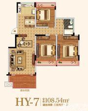 金马爱梦庄园HY-73室2厅108.54㎡
