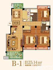 金马爱梦庄园B-13室2厅125.14㎡